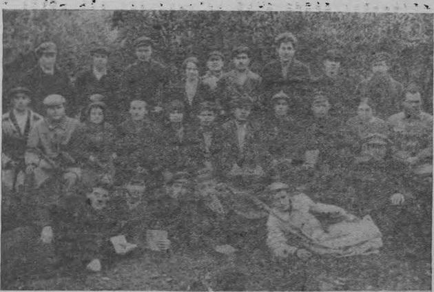 Совещание секретарей при Кузнецком окружном РКП (б) 22—25 сентября 1925 г.