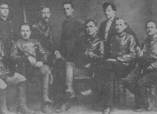Кузбассовцы — делегаты XII съезда РКП(б) 17—25 апреля 1923