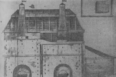 Доменная печь Томского завода в первой половине XIX столетия