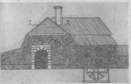 Плавильная фабрика Гурьевского завода 1820 года