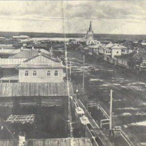 Панорама Мариинска. 1897 г.