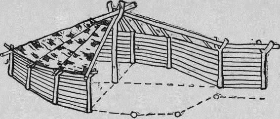 Жилище людей таштыкской культуры в Кузбассе (реконструкция по материалам Михайловского поселения II в. до н. э.— IV в. н. э ).