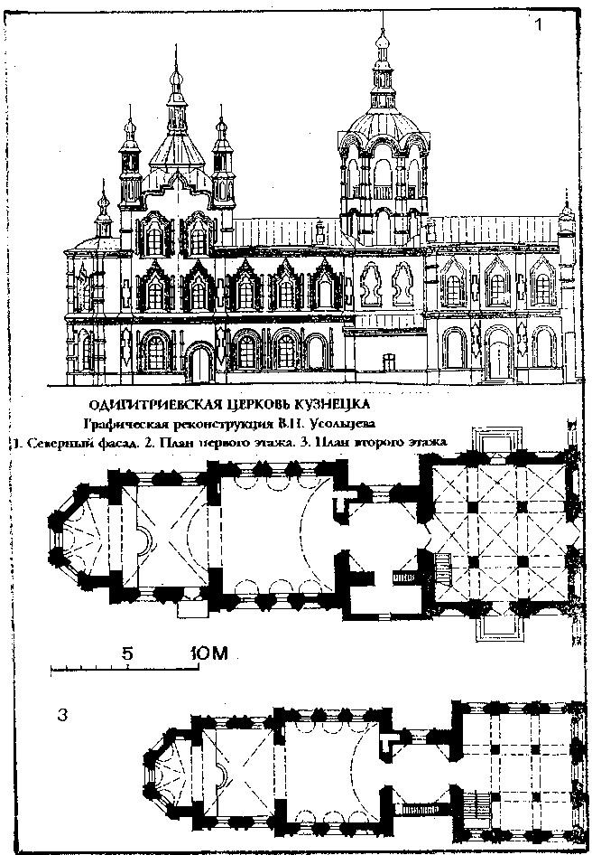 Одигитриевская церковь в г. Кузнецк