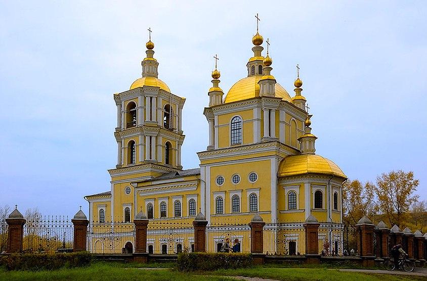 Спасо-Преображенскнй собор в г. Новокузнецк