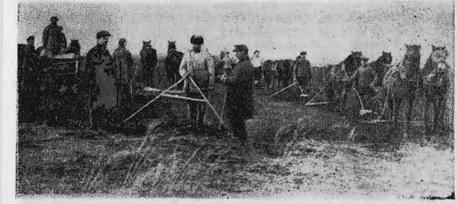 Первая колхозная весна в Усть-Сосново Яшкинского района