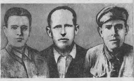 29 января 1942 года в боях под Новгородом кузбассовцы А. С. Красилов, Л. А. Черемнов а И. С. Герасименко закрыли собой амбразуры фашистских дзотов. Посмертно они удостоены высокого звания Героев Советского Союза